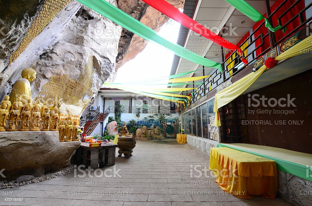 Kwan Yin Tong cave temple,Ipoh Perak stock photo