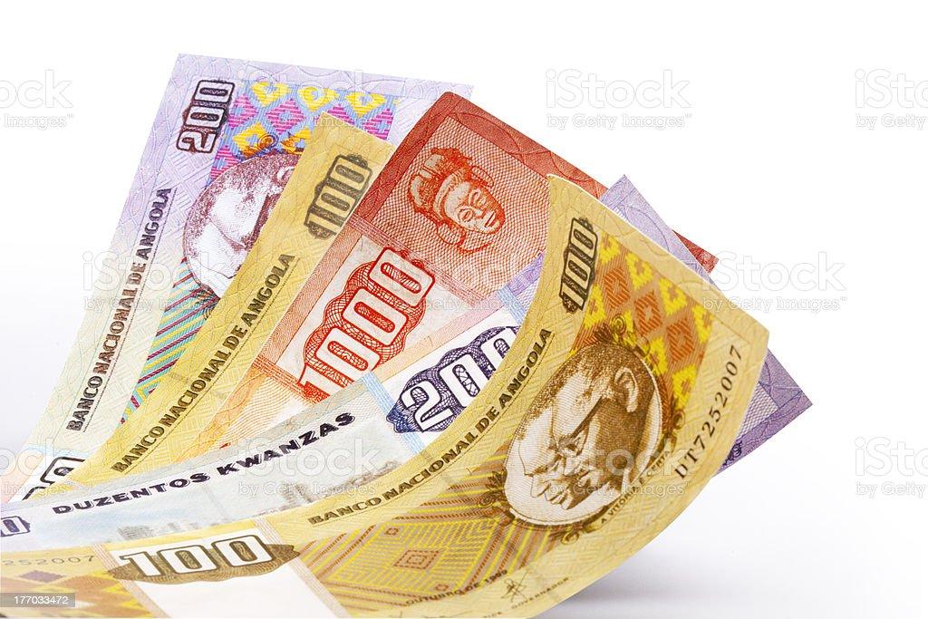 Kwanza money royalty-free stock photo