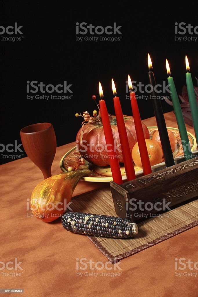 Kwanzaa Angle stock photo