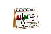 Kwanzaa Day 2 Calendar