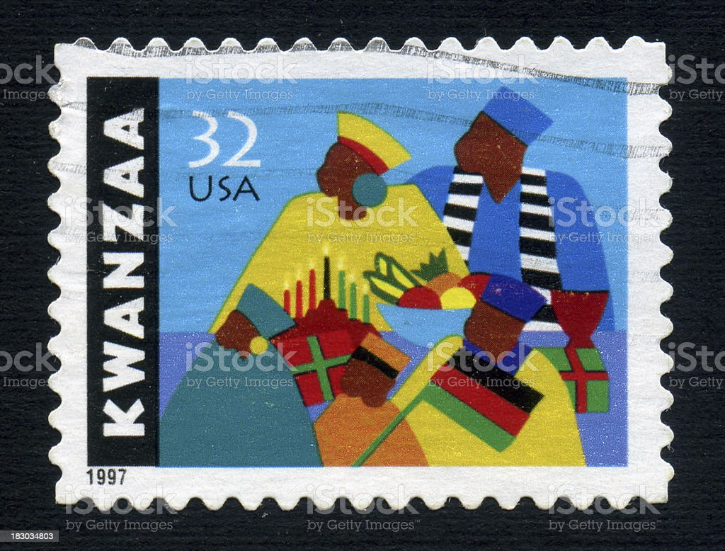Kwanzaa royalty-free stock photo