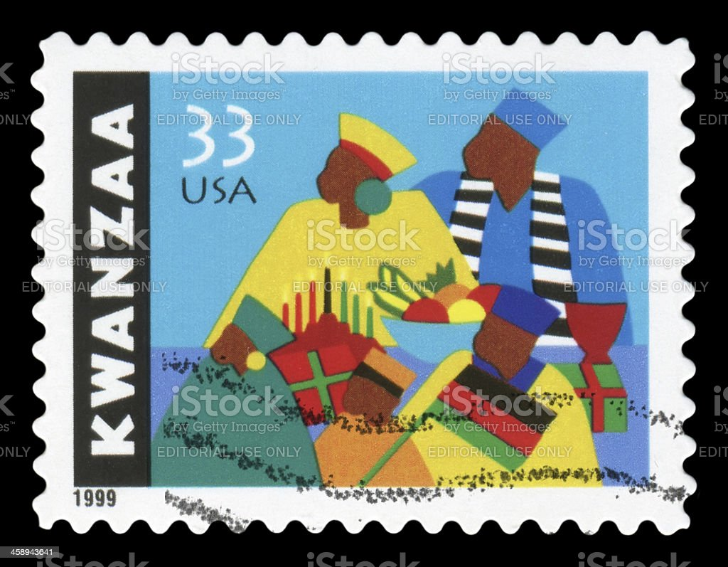 Kwanzaa stock photo