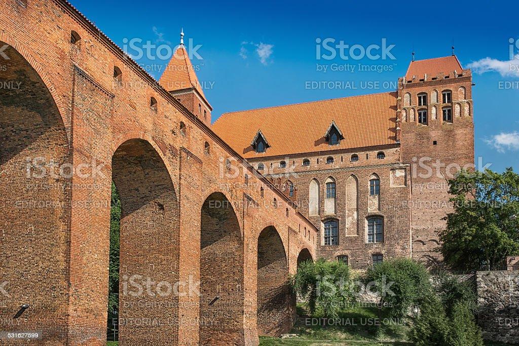 Kwidzyn Castle 2 stock photo