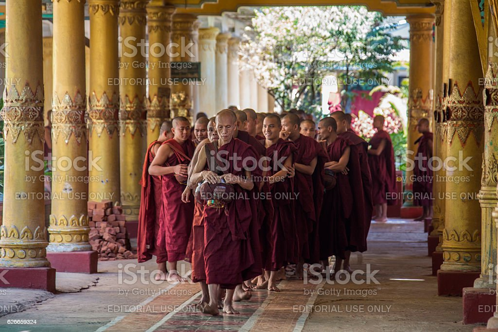 Kyat Khat Wine Monastery - Myanmar stock photo