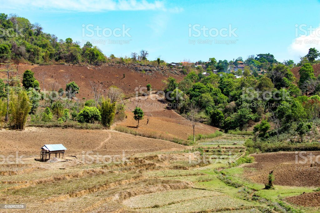 Kyaukme, Shan State, Myanmar stock photo