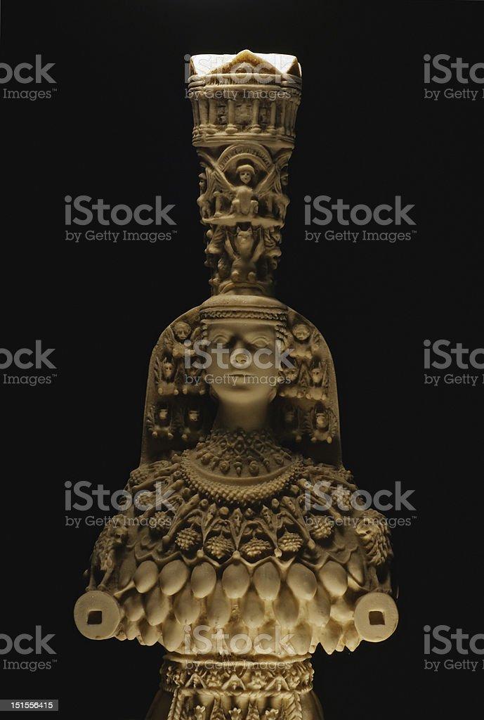 Kybele Goddess royalty-free stock photo