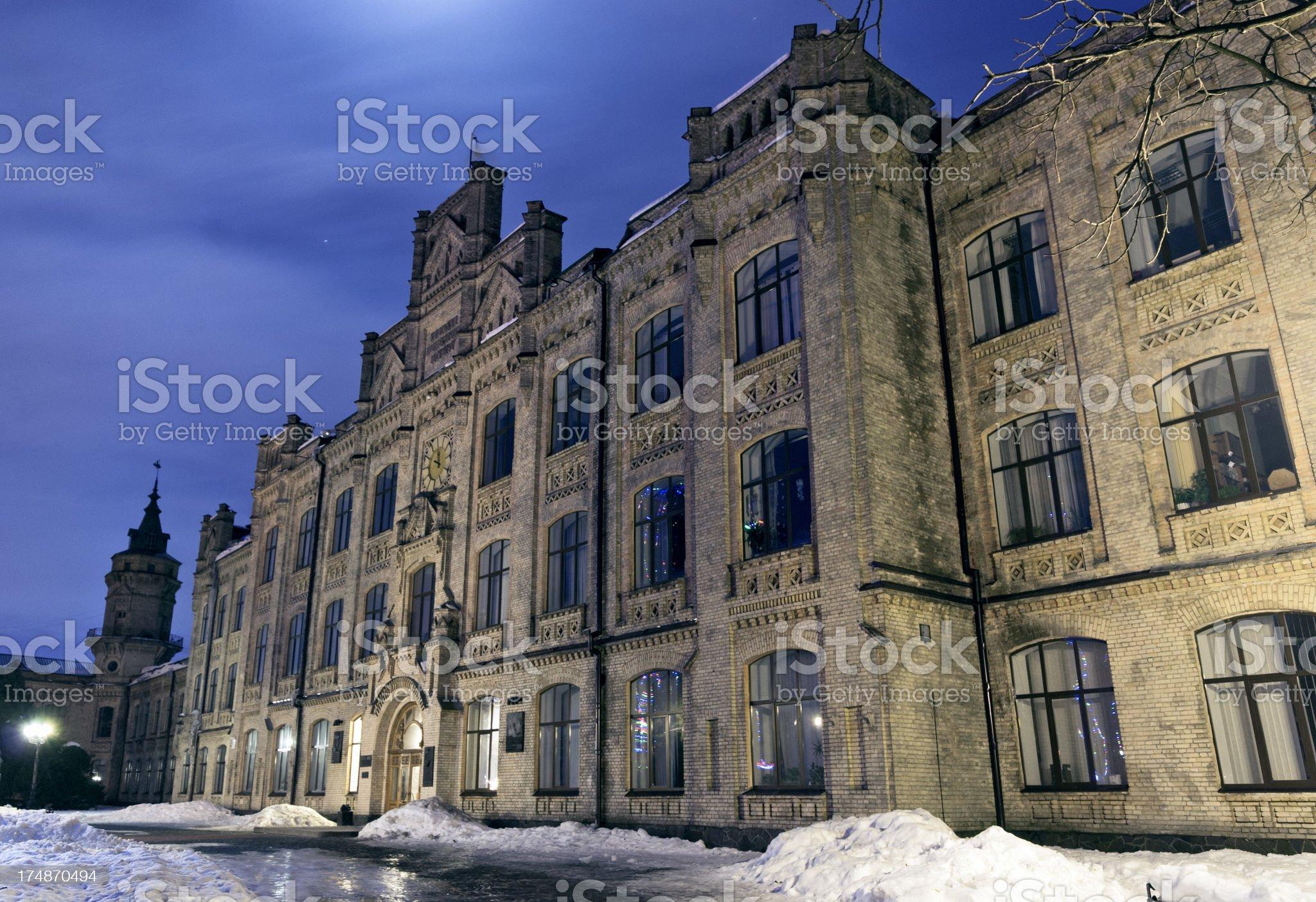 Kyiv Polytechnic University royalty-free stock photo
