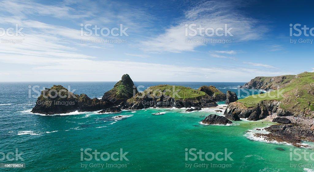 Kynance Cove, Cornwall stock photo