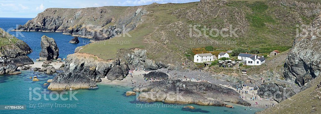 Kynance Cove (Lizard Peninsula) stock photo