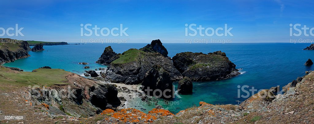 Kynance Cove stock photo