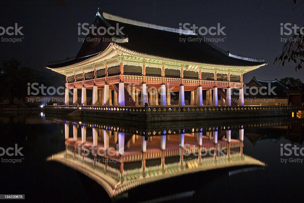Kyongbok Palace stock photo