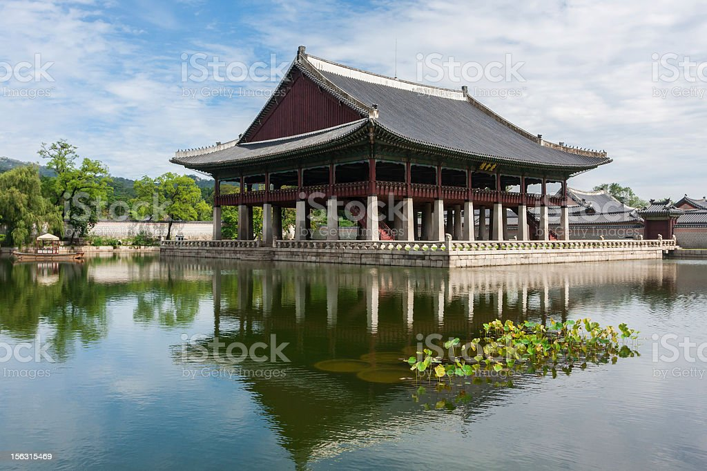 Kyongbok Palace royalty-free stock photo