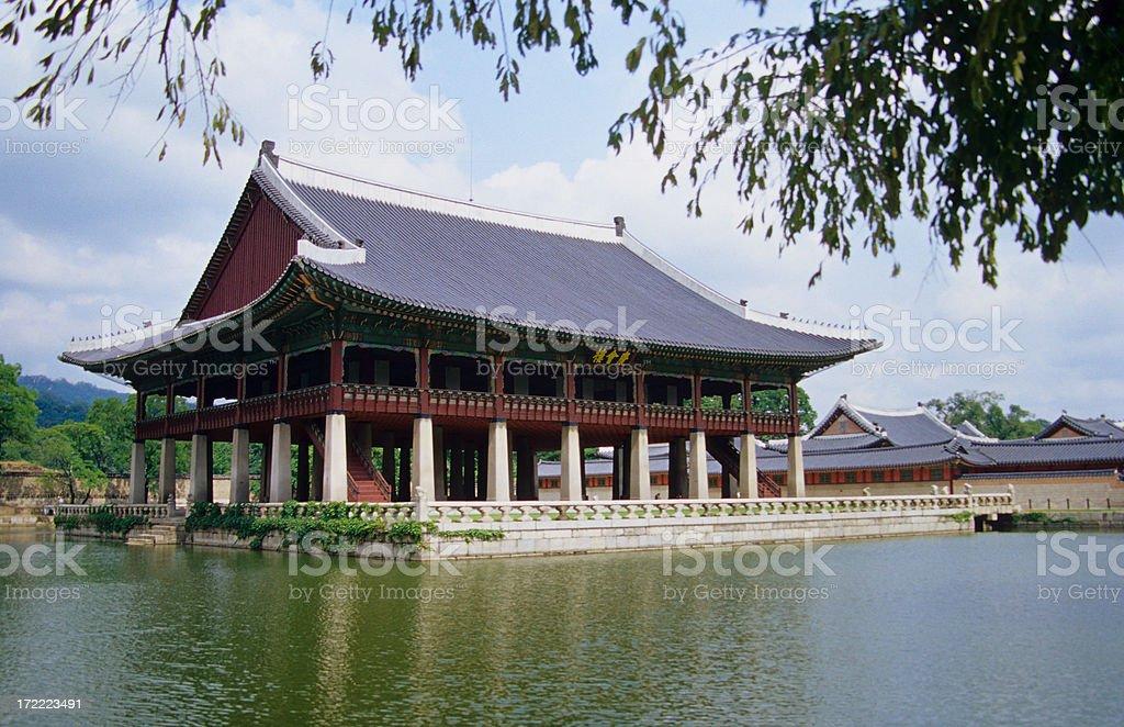 Kyongbok Palace royalty-free stock photo