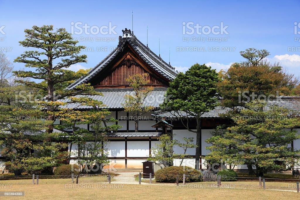 Kyoto architecture stock photo