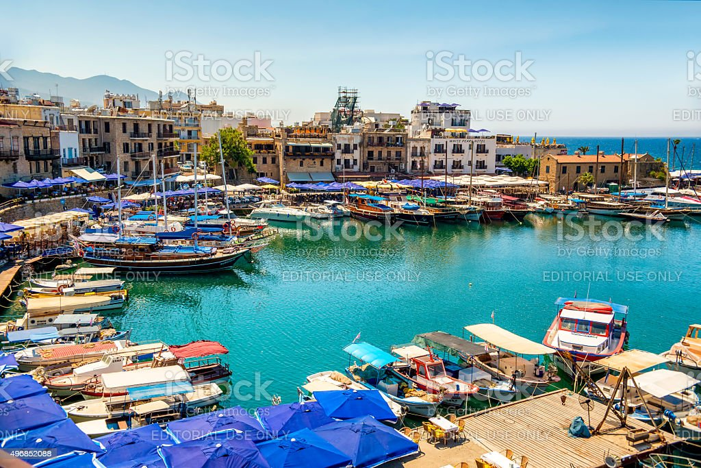 Kyrenia, Cyprus - July 5, 2015: Kyrenia (Girne), stock photo