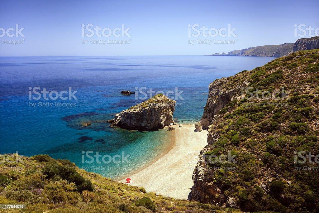 Kythera, Greece royalty-free stock photo