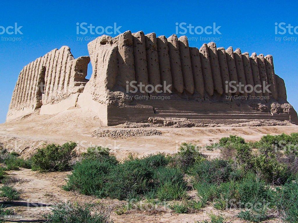 Kyz Qala Ruins stock photo