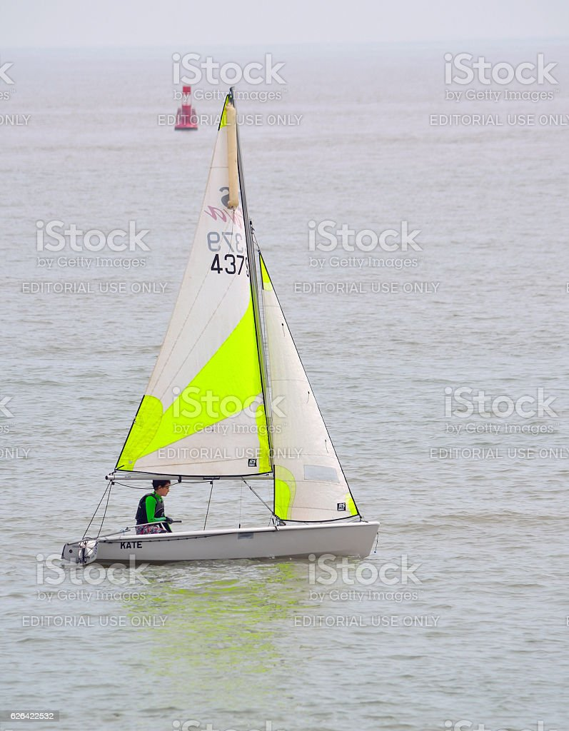 l Sailing Dinghies stock photo