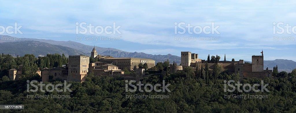 La Alhambra, Granada (Spain) royalty-free stock photo