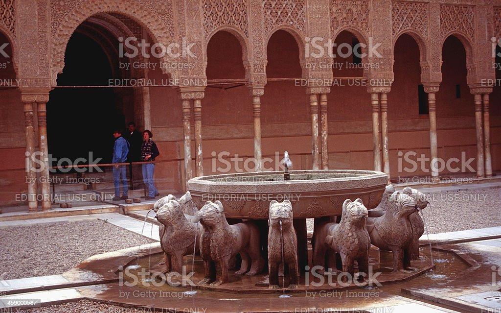 La Alhambra royalty-free stock photo