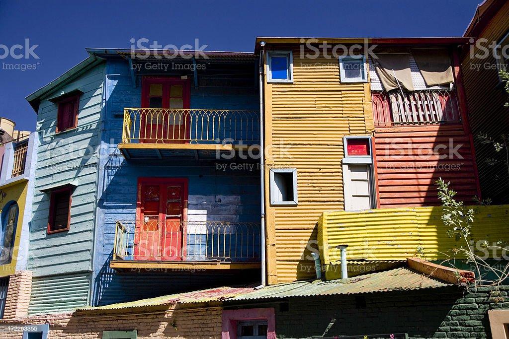 La Boca Buenos Aires Argentina royalty-free stock photo