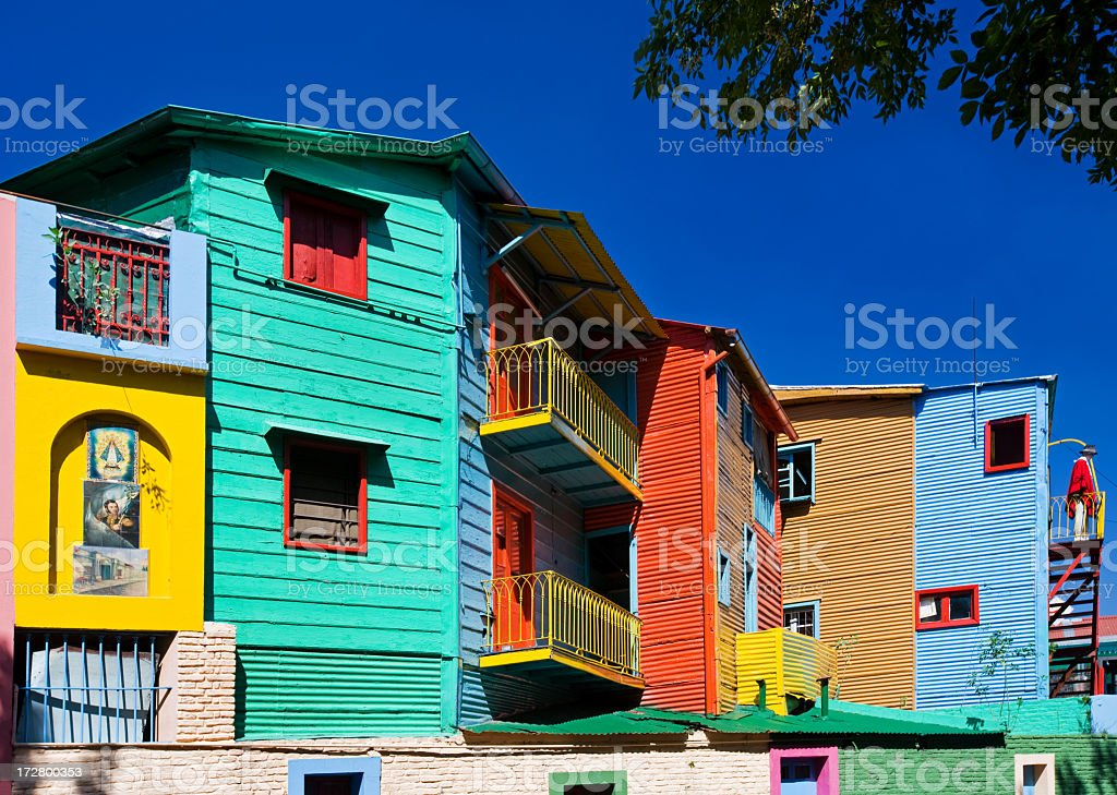 La Boca, Buenos Aires, Argentina stock photo