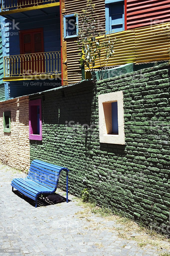La Boca, Buenos Aires, Argentina royalty-free stock photo