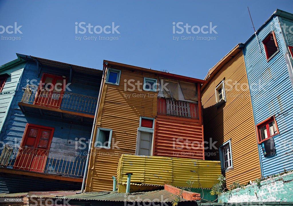 La Boca, Buenos Aires royalty-free stock photo