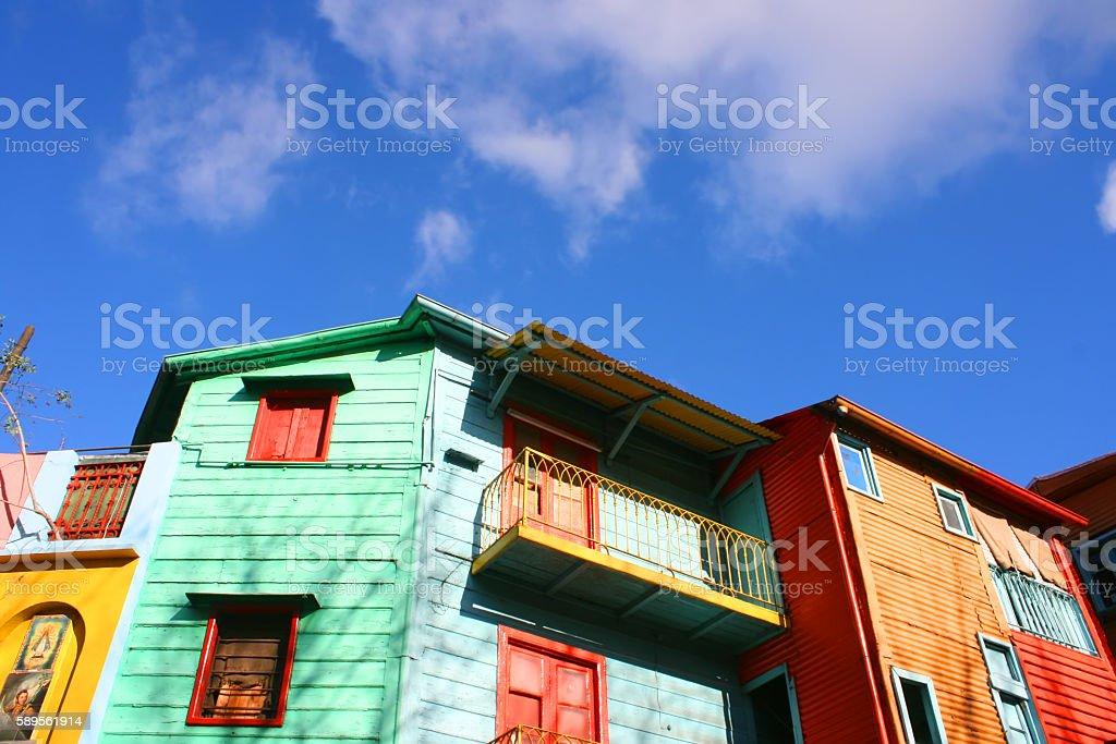 La Boca, Buenos Aires stock photo