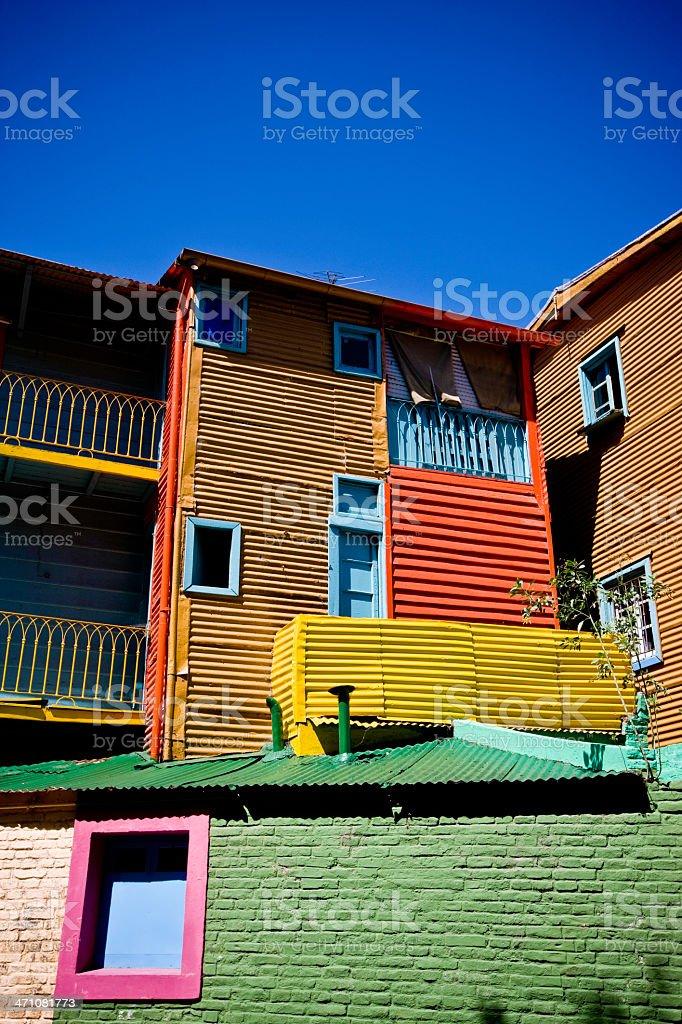 La Boca District Buenos Aires royalty-free stock photo