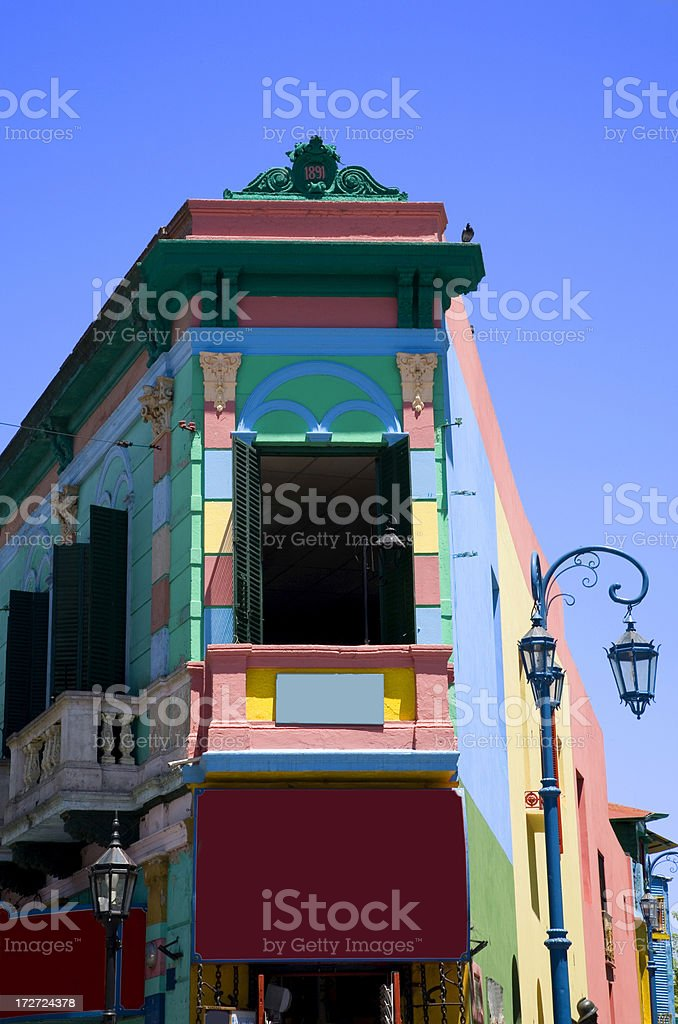 La Boca royalty-free stock photo