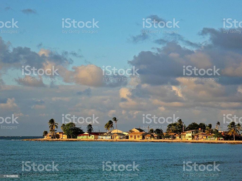 La Boca Village, Cuba stock photo