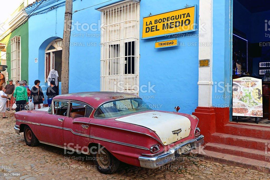 La Bodeguita Del Medio in Trinidad, Cuba stock photo
