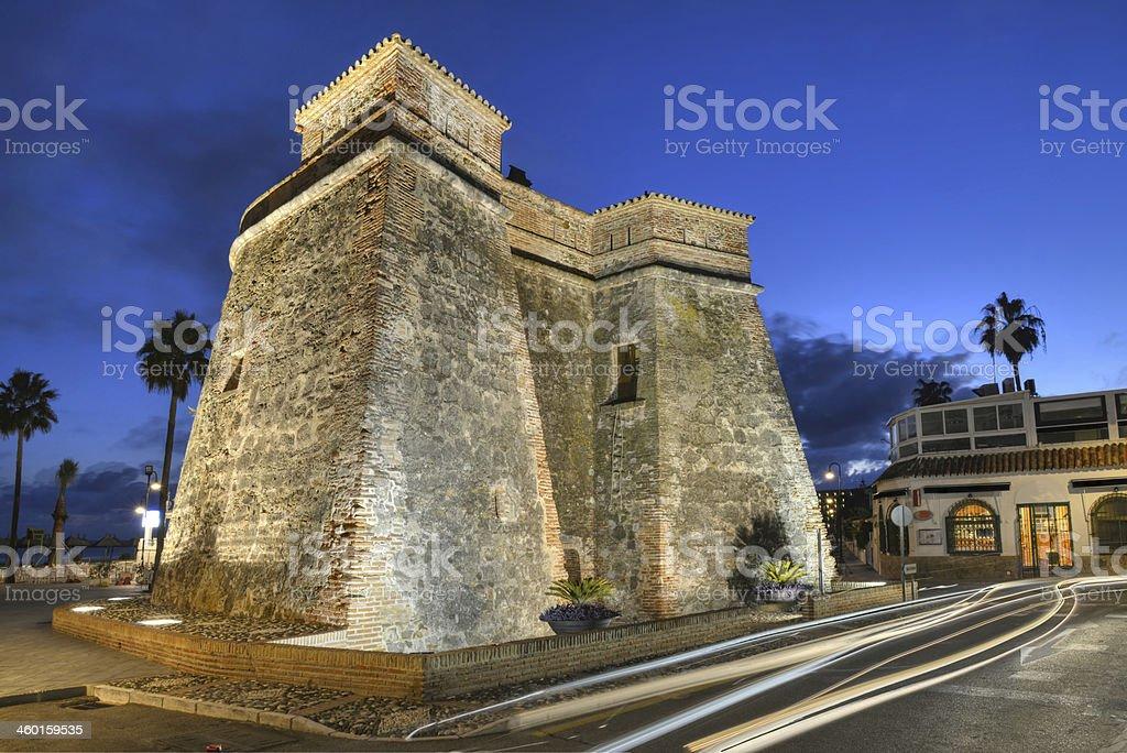 La Cala watch tower. royalty-free stock photo