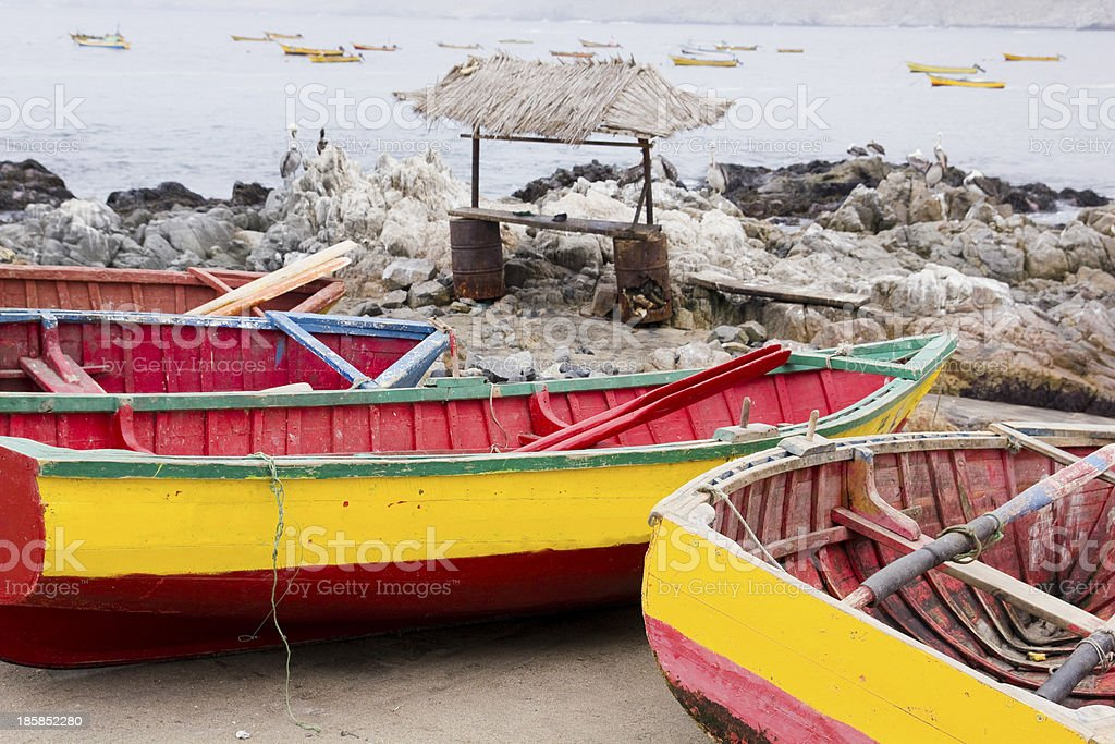 La Caleta, Pan de Azucar, Chile royalty-free stock photo
