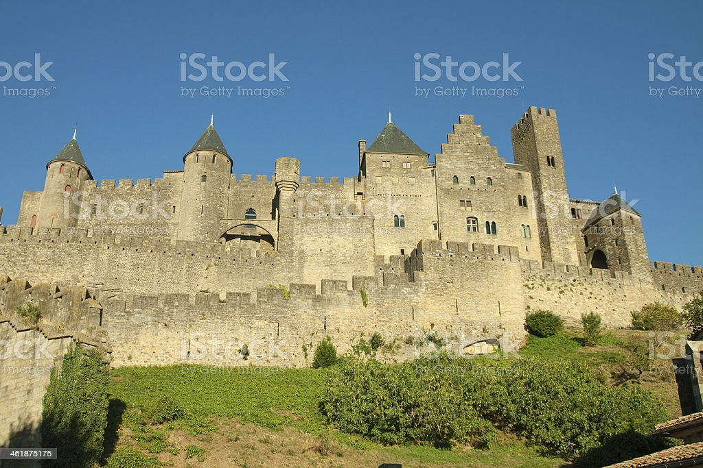 La Cite - Carcassonne stock photo