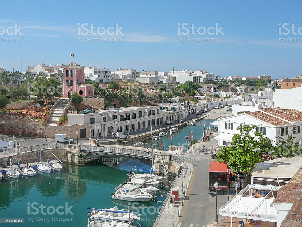 La Ciutadella beach stock photo