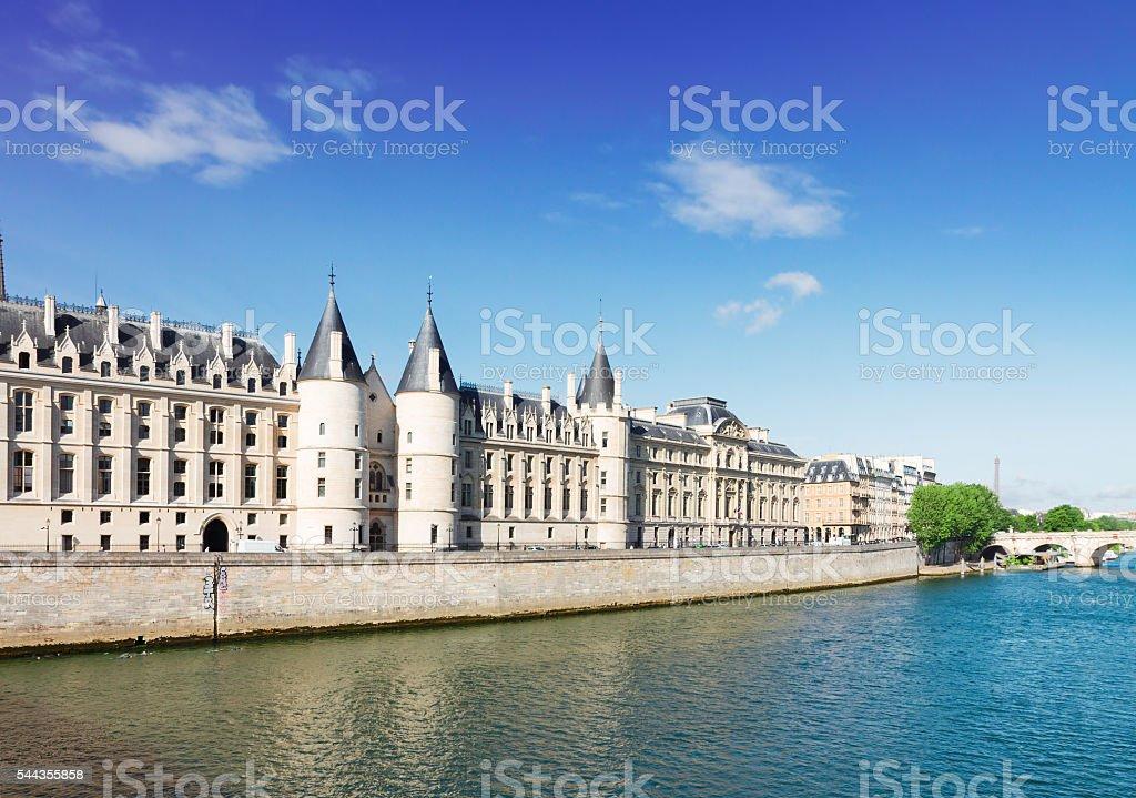 La Conciergerie, Paris, France stock photo