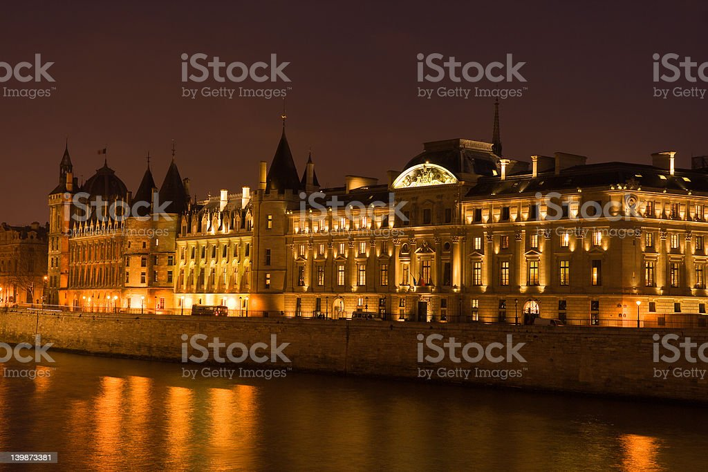 La Conciergerie royalty-free stock photo