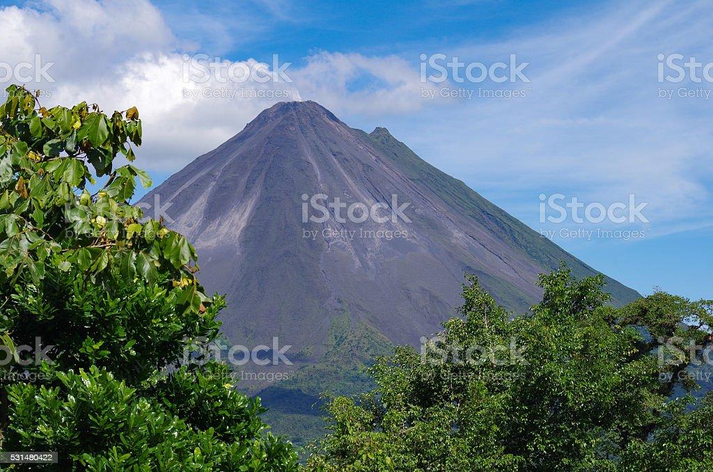 La Fortuna Volcano stock photo