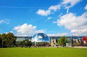 La Geode in the Parc de la Villette in Paris