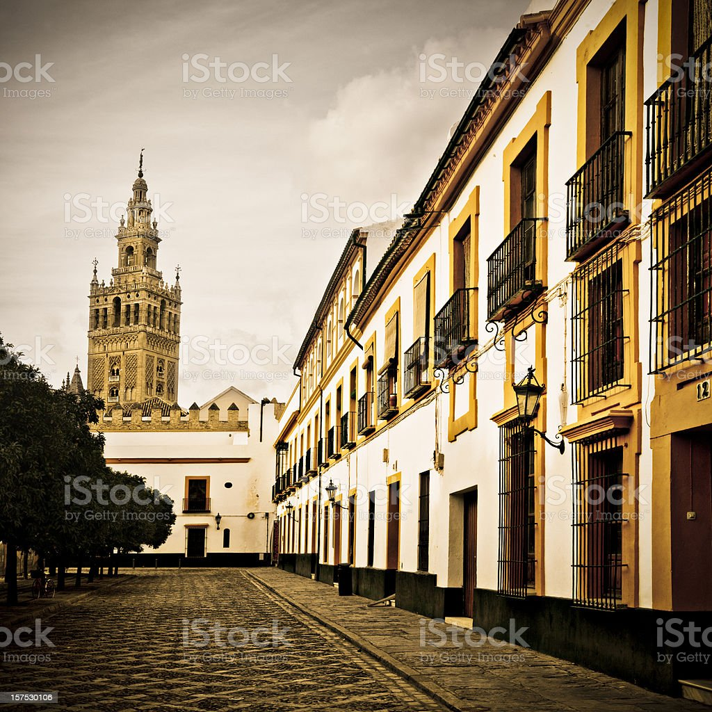 La Giralda royalty-free stock photo