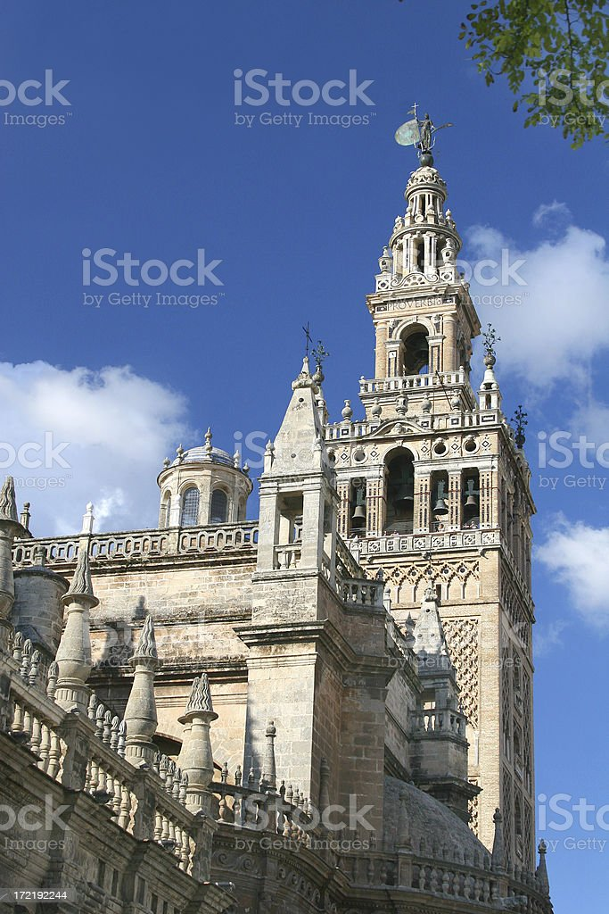 La Giralda - Seville royalty-free stock photo