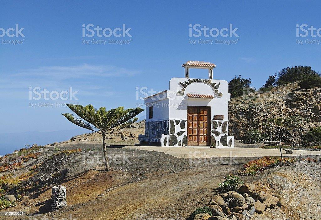 La Gomera - Ermita de Coromoto royalty-free stock photo
