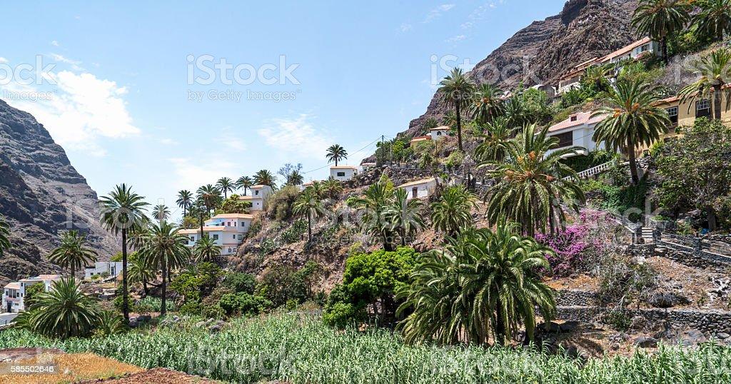 La Gomera stock photo