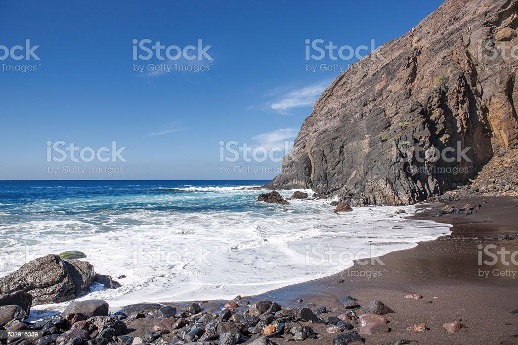 La Gomera - Playa del Trigo royalty-free stock photo