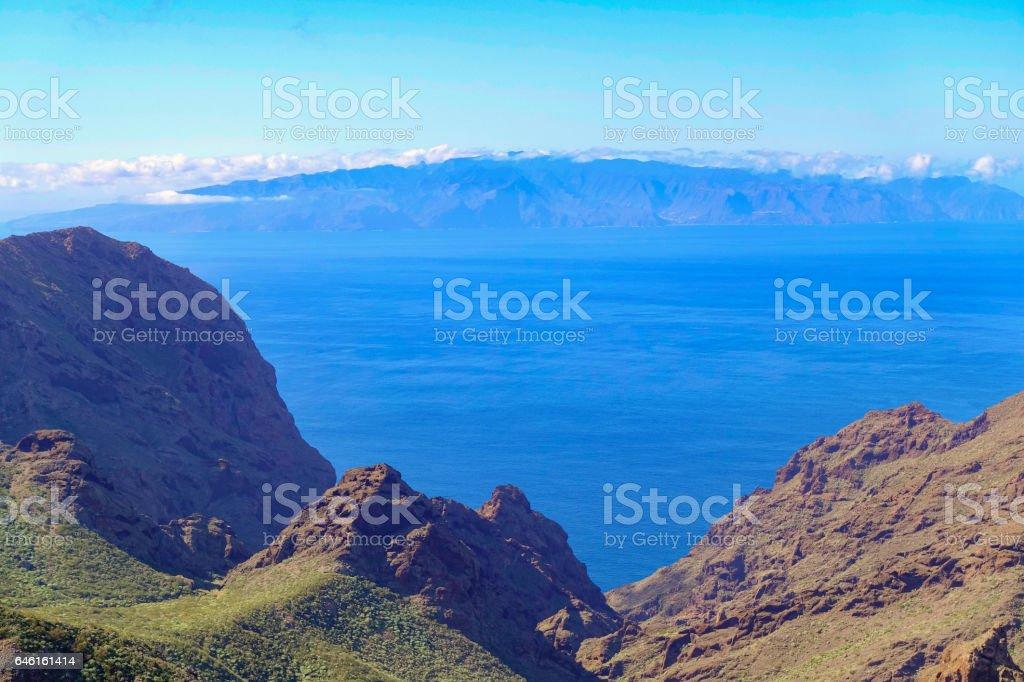 La Gomera - Tenerife stock photo