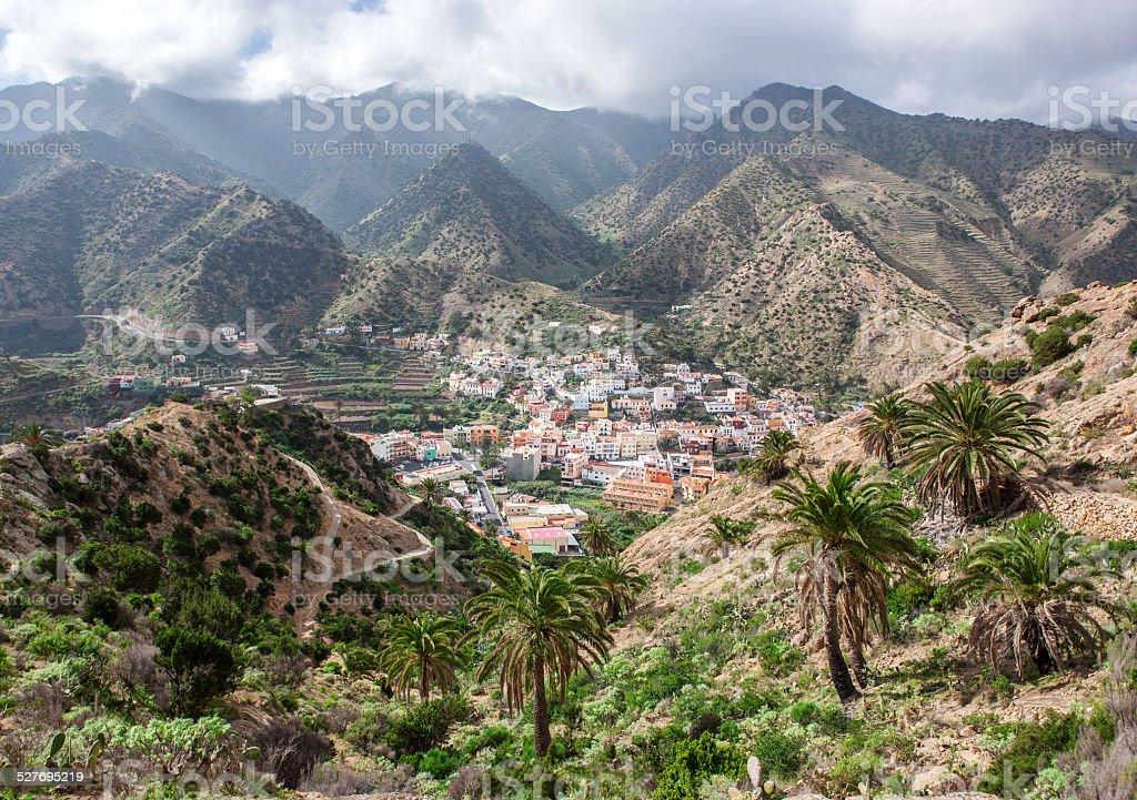 La Gomera - Vallehermoso royalty-free stock photo