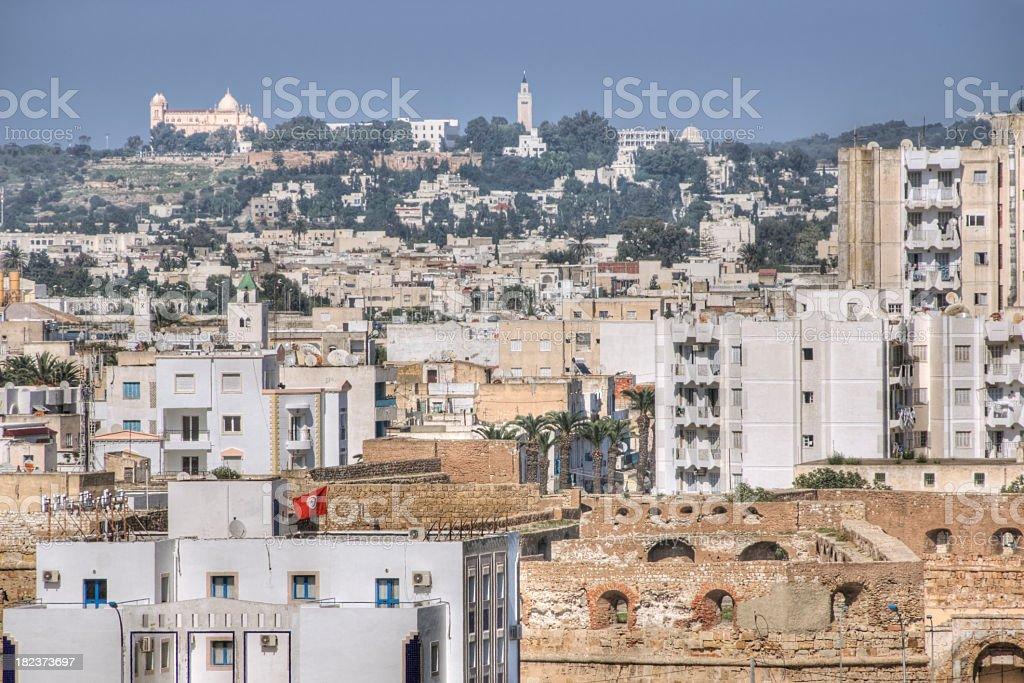La Goulette, Tunisia stock photo