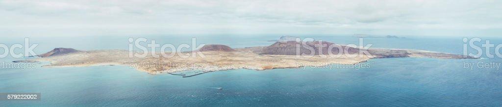 La Graciosa Island stock photo